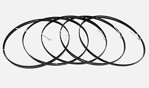 5 x Sägebänder Sägeband 2240 x 6 x 0,65 mm 6 ZpZ Holz Metabo Einhell Beckum