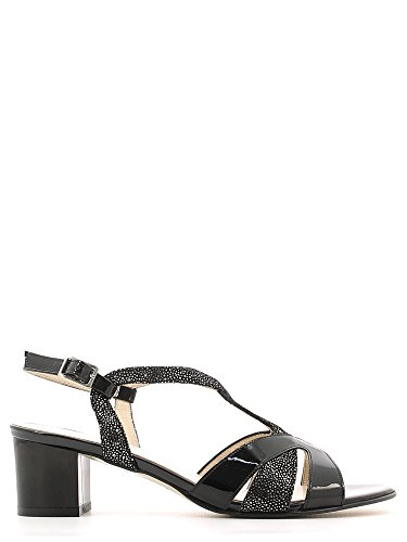 Grace shoes E6481 Sandalo tacco Donna Nero 36