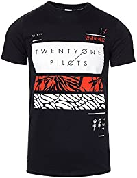 Official Twenty One Pilots Fillers Bars T Shirt (Black)