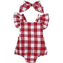 Bebe Vestidos Switchali gran venta Recién nacido Bebé Niña Algodón Bowknot Ropa bodysuit Mameluco jumpsuit Set de trajes 0~18 meses