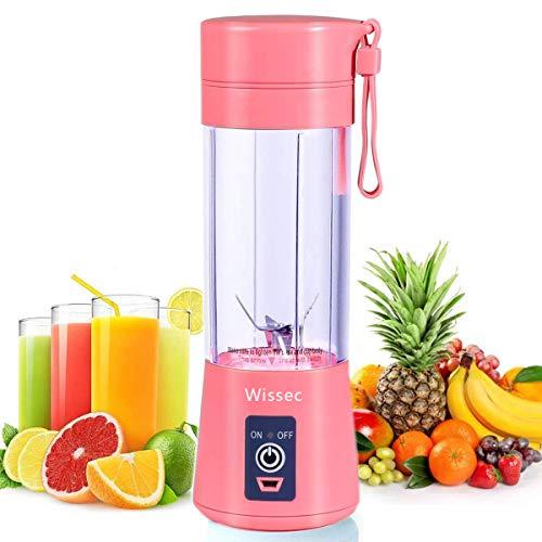 Batidora Portátil de Frutas Recargable Con USB, Mini Licuadora Para Batidos, Bebidas, zumo de frutas...