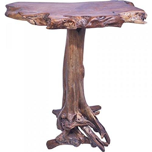 KOH DECO Table Haute Mange-Debout en Teck