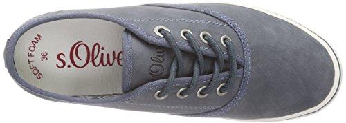 802 Sneakers Blau 23601 s s Oliver DENIM Damen Oliver ZOf81fxwq