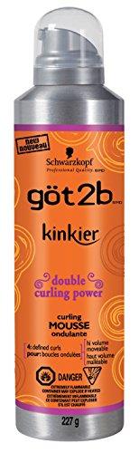Got 2B Kinkier Curling Mousse 227g (Haarschaum) -