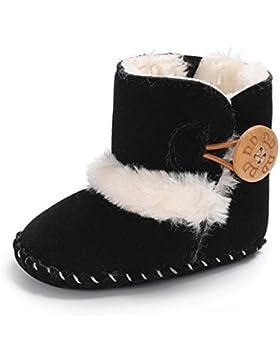 TPulling Mode Herbst Und Winter Infant Kleinkind Baby Weiche Sohle Krippe Unterseite Schuhe Stiefel