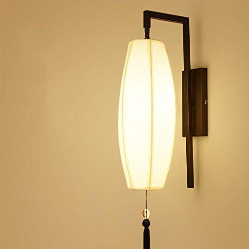 WYQLZ Style Chinois Salon Classique Mur Lampe Chambre Chevet Hall Étude Escaliers Allée Hôtel Couloir Vintage Décoration Nuit Lumière