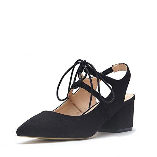 Sandali Cinturino Primavera/Sharp-punta, Superficiale tacchi. A