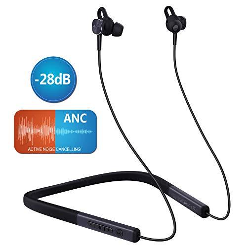 MYCARBON Auricolari Bluetooth Sport 5.0 Cuffie Bluetooth Running Cancellazione Rumore 9-13 Ore di Riproduzione IPX6 Auricolari in Ear Magnetici con Microfono Impermeabili