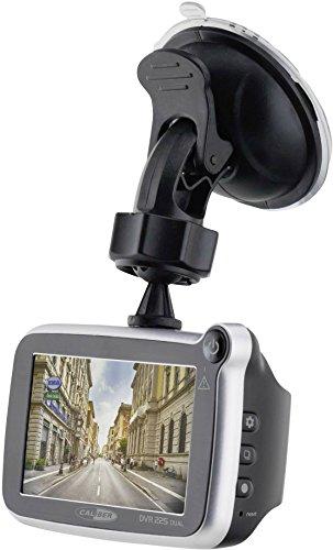 Caliber DVR225DUAL Dash cam Full HD Schwarz, Silber