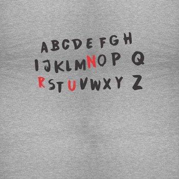 NERDO - Strange Message From Beyond - Damen Kapuzenpullover Grau Meliert