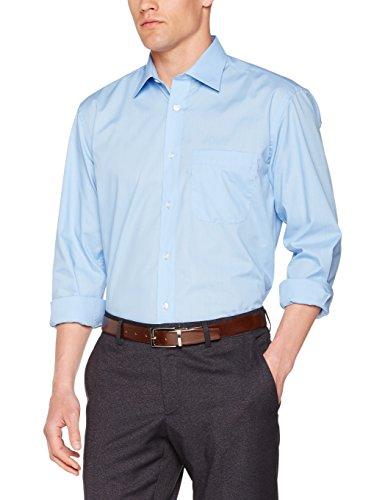 KUSTOM KIT Kk104, Chemise Business Homme Blue (Light Blue)