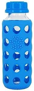 Lifefactory 13967 Bouteille en verre Bleu 250 ml