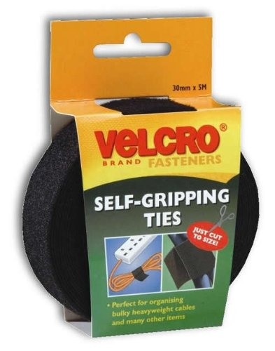velcro-60254-universal-kabelmanager-schwarz-30-mm-x-5-m-individuell-zuschneidbar