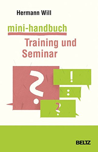 Mini-handbuch (Mini-Handbuch Training und Seminar)