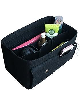 APSOONSELL Henkeltaschen Innentasche Organizer mit Reißverschlusstasche, Filz