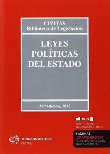 Leyes Políticas Del Estado (Biblioteca de Legislación)