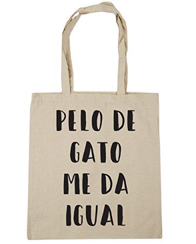 HippoWarehouse Pelo De Gato Me Da Igual Bolso de Playa Bolsa...