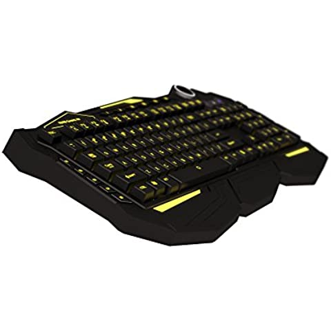 Mars Gaming MK3 - Teclado gaming, QWERTY español, color negro