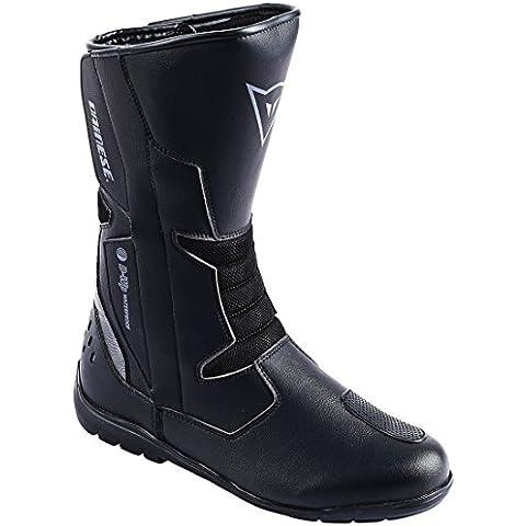 Dainese-Botas Dainese TEMPEST D-WP-carbono, color negro Negro negro Talla:44