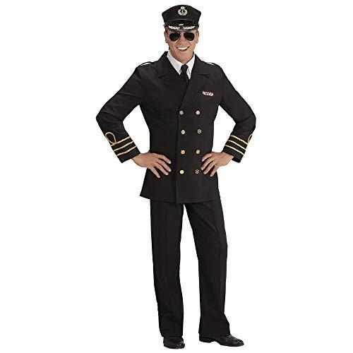 Widmann - Erwachsenenkostüm Navy Officer (Navy Pilot Kostüm)