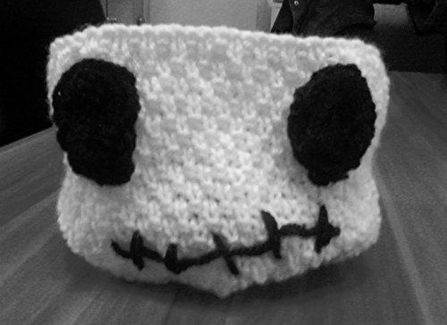 Strickanleitung Halloween Schüssel zur Deko und für Süßigkeiten: Auch für Anfänger (Halloween Schüssel-shop Süßigkeiten)