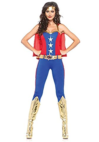 Adulte Sexy Halloween Costumes - Leg Avenue Costume Comic Hero de Livre
