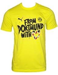 PUMA Damen T-Shirt BVB Women's Winner Tee