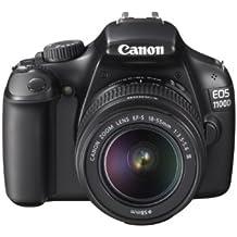 "Canon EOS 1100D + EF-S 18-55mm - Cámara digital (12,2 MP, Juego de cámara SLR, 25,4/59,2 mm (1/2.33""), 3x, 18 - 55 mm, 5,8 cm)"