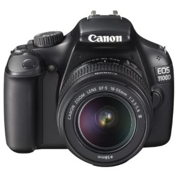 Canon EOS 1100D Digital SLR Camera (With 18-55 mm f/3.5-5.6 DC III Lens Kit) (discontinued by manufacturer)