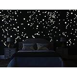 Stickers plafond fluorescent - Etoiles phosphorescentes plafond chambre ...