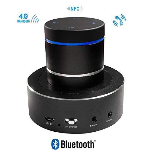 Enceinte Vibrante Bluetooth NFC sans Fil Rechargeable 26W Adin S8BT Noir VBN-S8BT