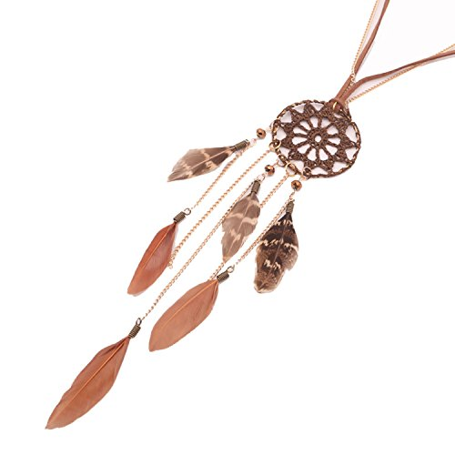 Beyond Dreams® Cadena Dream Catcher para Mujeres| Cadena de Joyas de