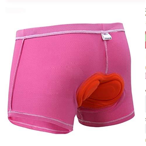 MJTCJY Upgrade-Radhose einen.Kreislauf.durchmachenunterwäsche Pro 5D Gel Pad Stoß- Radfahren Underpant Fahrrad Shorts Bike-Unterwäsche (Color : Women Pad Underwear, Size : XXL) -