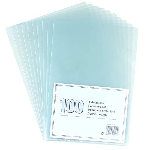 NoName 5914114 Aktenhülle A4, genarbt, 100er Packung