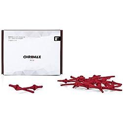 Noctua Chromax NA-SAV2 Cuscinetti Anti-Vibrazione, Rosso