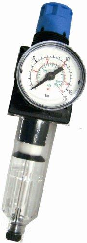 Preisvergleich Produktbild Elektra Beckum Druckminderer mit Manometer & Filter R 1 / 4 Zoll