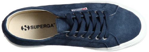 Superga 2750-Sueu, Sneaker a Collo Basso Unisex-Adulto Blu (Blue Night Shadow)