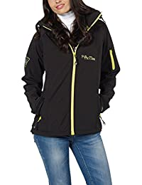 Fifty Five - Chaqueta - para mujer, Black/Lime, 44