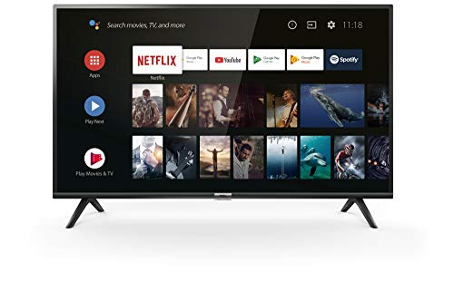TCL 40ES561 Fernseher 100 cm (40 Zoll) Smart TV (Full HD, Android TV, HDR, Micro Dimming, Google Assistant, Google Home) Schwarz