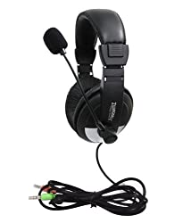 Zebronics ZEB-100HMV Headphones with Mic