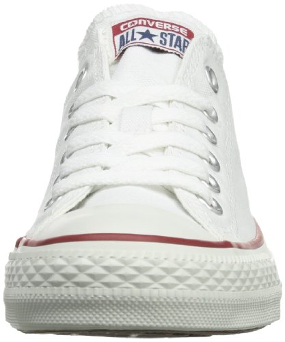Converse As Ox Can Nvy, Sneaker Unisex – Adulto Bianco (White Canvas)