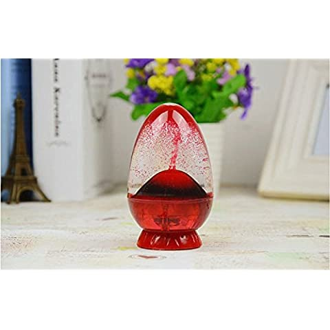 Xjoel Timing guscio d'uovo ornamenti Eruzione Quicksand