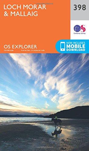 Loch Morar and Mallaig (OS Explorer Active Map, Band 398)