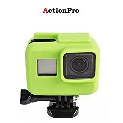 Action Pro Gopro Accessories Green Silicone Cover Side Frame Case for Gopro Hero 6 5 Action Camera