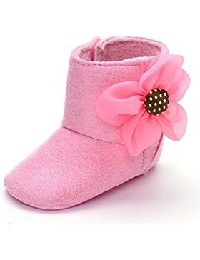 HUHU833 Kinder Mode Baby Stiefel Soft Sole, Blumen Schnee Stiefel, Soft Crib Schuhe Kleinkind Stiefel