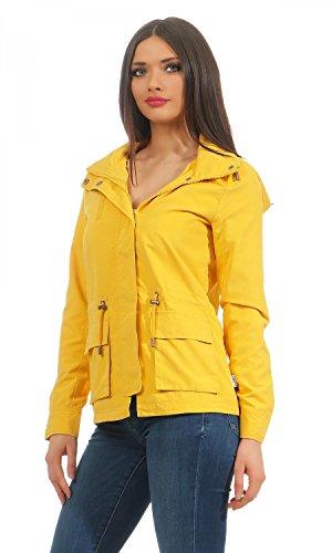 ONLY Damen Onlstarlight Spring Parka Jacket Cc Otw Yolk Yellow
