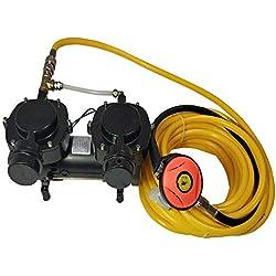 Davv 12 V 160 W à Cire incorporée Pompe à diaphragme, Narguilé Compresseur de système de plongée, Troisième Lung Serface Air Neuf - SCU70