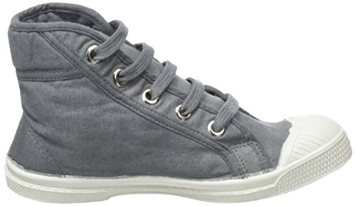 Bensimon Tennis Mid, Baskets Hautes Mixte Enfant Gris (Gris)