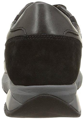 Geox Hayden E.W. B, Sneaker, Uomo Nero