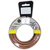 EDM Carrete cablecillo Flexible 4 mm. Marron 50 MTS. Libre-halogeno